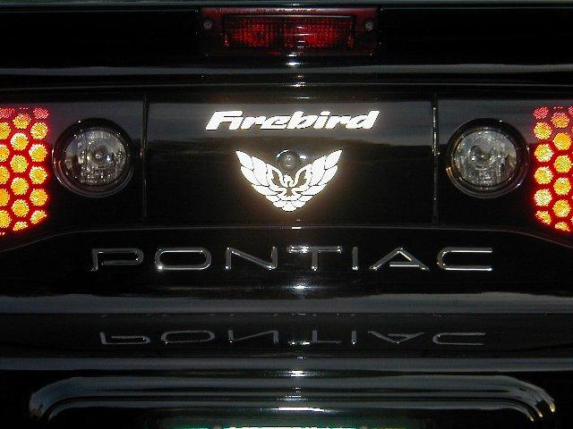 93 02 Firebird Formula Trans Am Center Tail Light Decals
