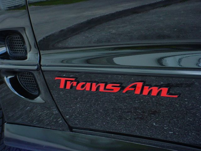 "98-02 GM ""Trans Am"" Rocker Emblem"