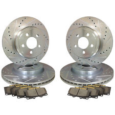 98-02 F-Body Drilled/Slotted Rotor AND Pad Combo (all 4)