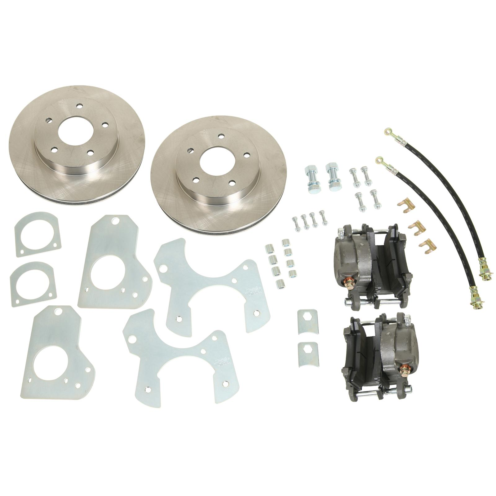 82-92 F-Body Right Stuff Detailing Rear Disc Brake Conversion Kit