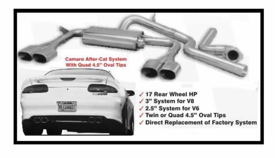 Systems | Exhaust | 98-02 Camaro/Firebird | WS6store com