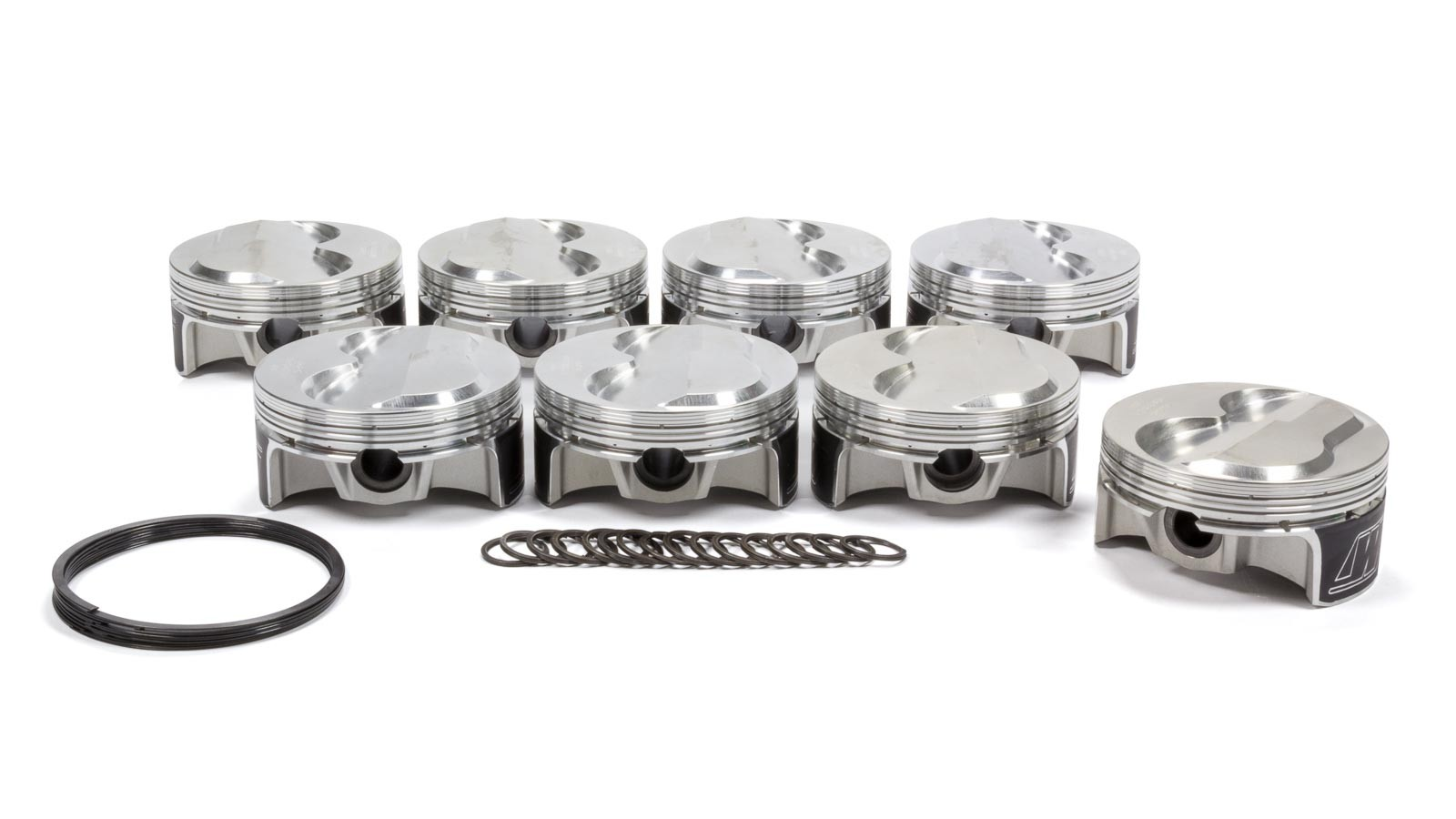 WISECO PISTONS FORGED 9.6:1 FLAT TOP 3.800 BORE - GM LS 5.3L