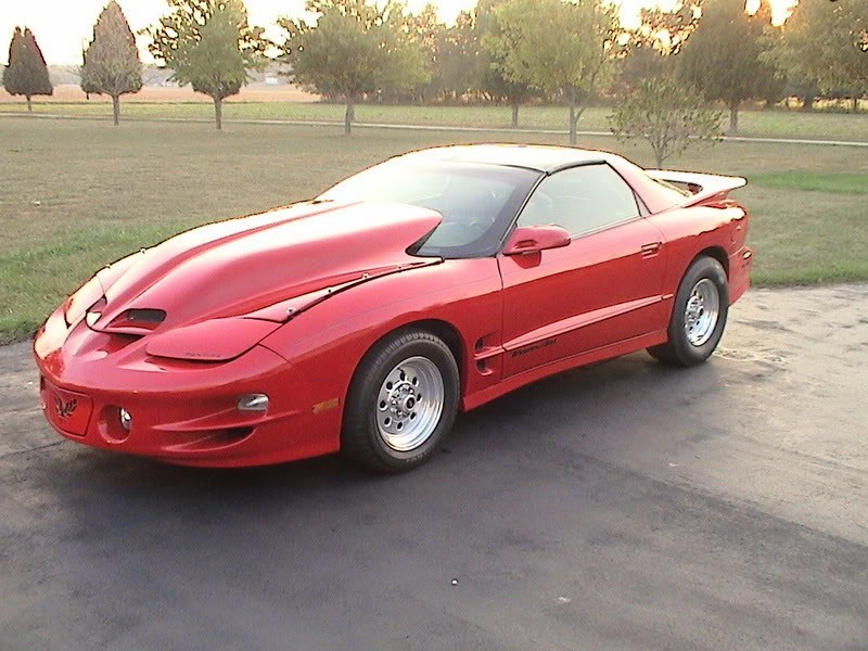"98-02 Firebird VFN 5"" Sloped WS6 lift off hood"