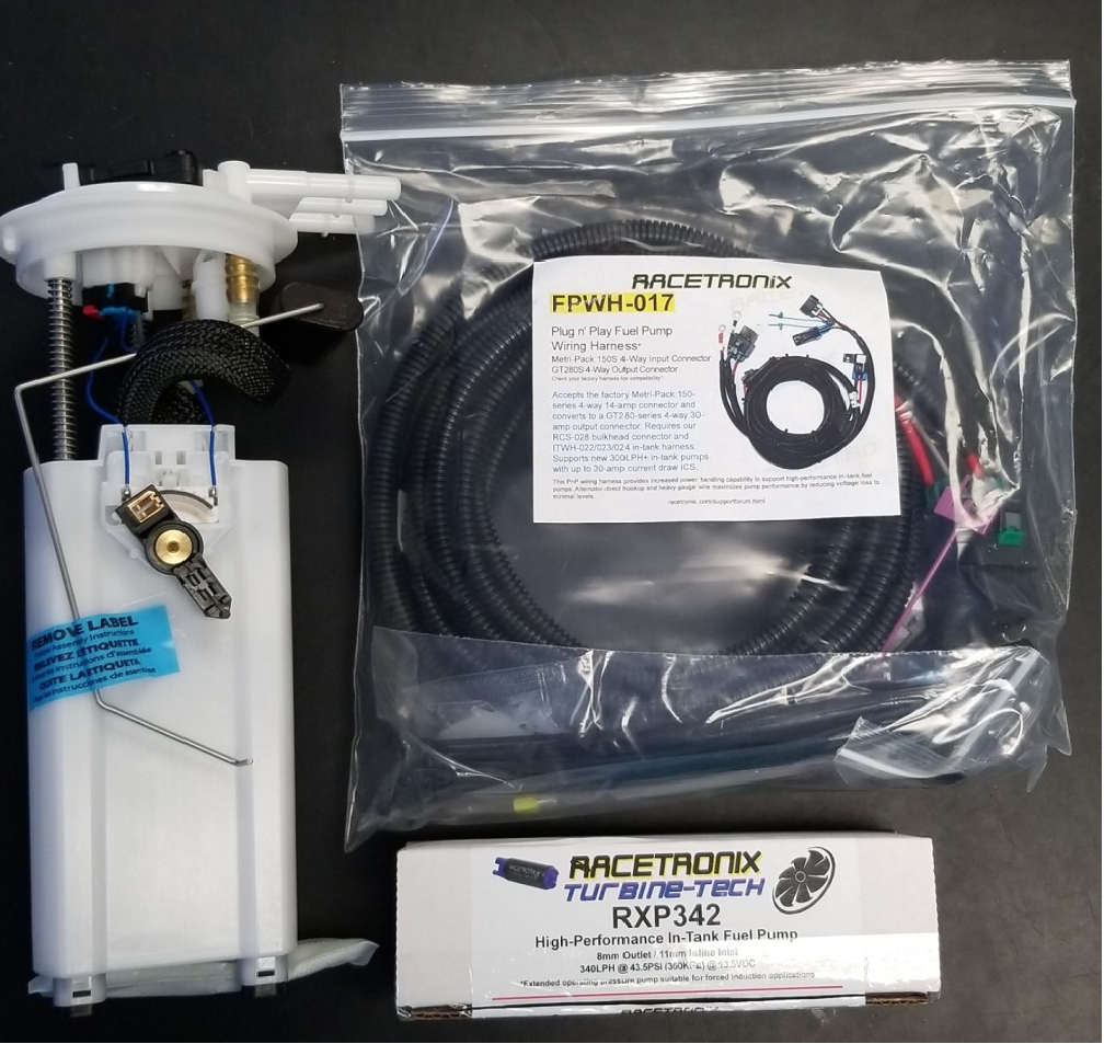 99-02 LS1 F-Body Complete Fuel Pump Assembly W/RACETRONIX 340LPH Pump Installed (up to 800HP)